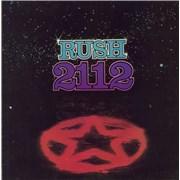Rush 2112 [Twenty One Twelve] - VG vinyl LP UNITED KINGDOM